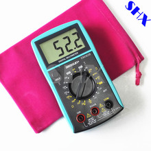 All-Sun  Digital Multimeter LCD DC/AC Voltmeter Continuity Battery Diode Tester with Gift Bag EM382B