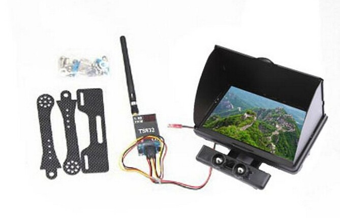 F06886-A FPV Aerial 32 Points Frequency 600mw 5.8G (TS832 emission ) Transmitter  + Display stand