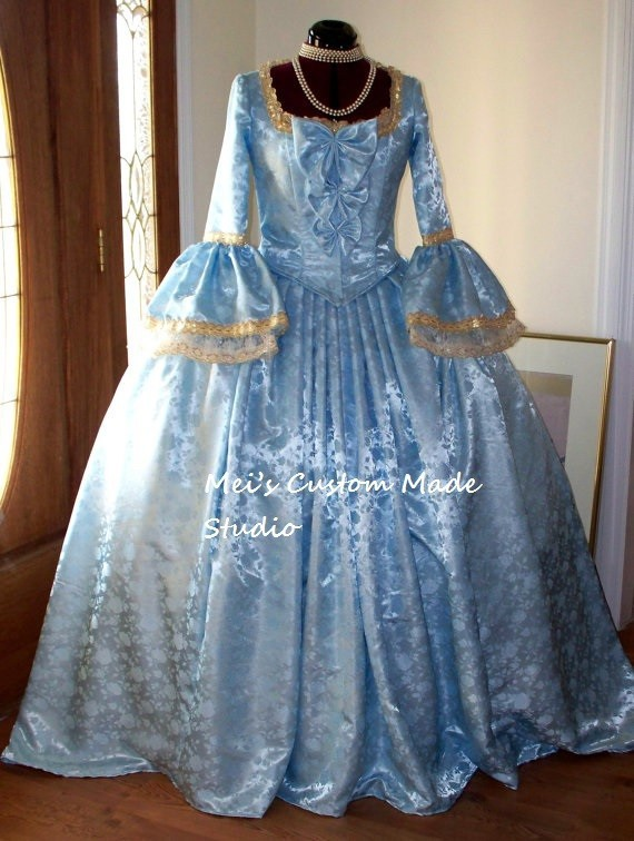 French Revolution Ball Gown – fashion dresses