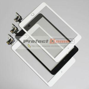 Image 2 - 10 יח\חבילה עבור iPad מיני 1/2 מיני 3 מגע מסך Digitizer עצרת עם לחצן בית & בית להגמיש כבל + IC מחבר