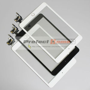 Image 2 - 10 ชิ้น/ล็อตสำหรับ iPad mini 1/2 mini 3 หน้าจอสัมผัส Digitizer ประกอบกับปุ่ม Home และ Flex Cable + IC Connector