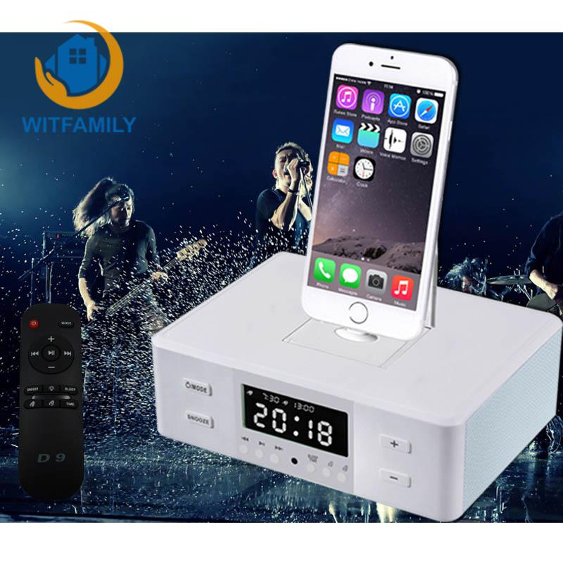 Alarm Clock with A Call Function Remote Alarm New Bluetooth Speaker Plug Apple Andrews Phone Audio Amplifier Seat Charge U PlayAlarm Clock with A Call Function Remote Alarm New Bluetooth Speaker Plug Apple Andrews Phone Audio Amplifier Seat Charge U Play