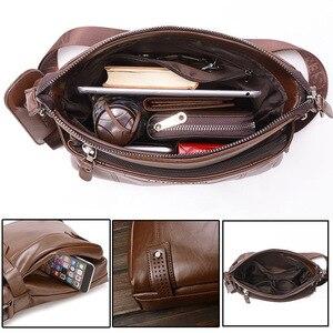 Image 4 - Bolso cruzado de mano para hombre, bandolera cruzada, conjunto de monederos para documentos