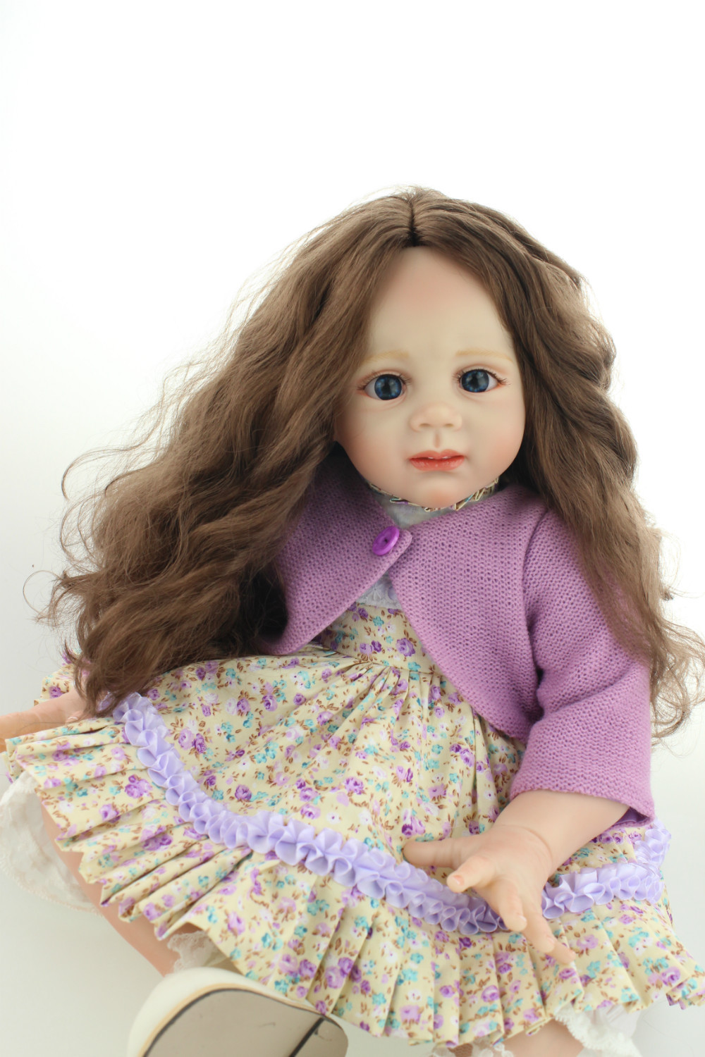 2015 NEW design soft silicone reborn baby doll rooted hair fashion doll Christmas gift and baby toys 2015 new design soft silicone reborn baby doll rooted human hair fashion doll christmas gift