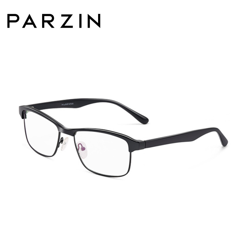 Parzin Tr 90 lunettes cadres hommes femmes myopie lunettes cadre Vintage lunettes cadre optique clair lentille lecture lunettes 5052 - 2