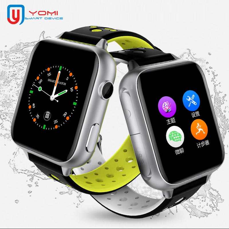 2019 Kids Smart Watch LBS+WIFI Locating SOS Call Remote Control Baby Child Tracker Music Watch for Android ISO Boy Girl Gifts