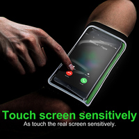 Baseus Arm Band For IPhone 6 6S 7 Outdoor Running Dirt Resistant Hand Bag Leather