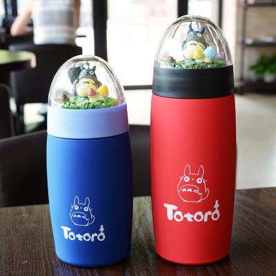Studio Ghibli My Neighbor Totoro – Cute Totoro Stainless Steel Thermos Cup Bottle 300ml/400ml