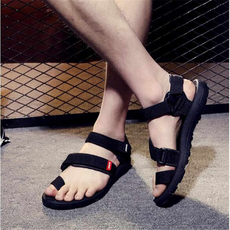 dad97286452 ... Personality fashion Vietnam sandals men s summer new outdoor sports  beach shoes 2018 trend men sandals