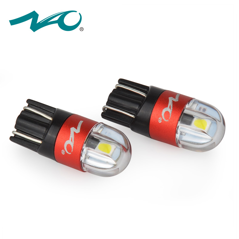 NAO 2x w5w car led t10 w5w bulb led t10 led auto lights interior auto 3030 12V automobiles signal lamp 168 194 clearance lights 2x car led w5w t10 194 clearance light for lada granta vaz kalina priora niva samara 2 2110 largus 2109 2107 2106 4x4 2114 2112