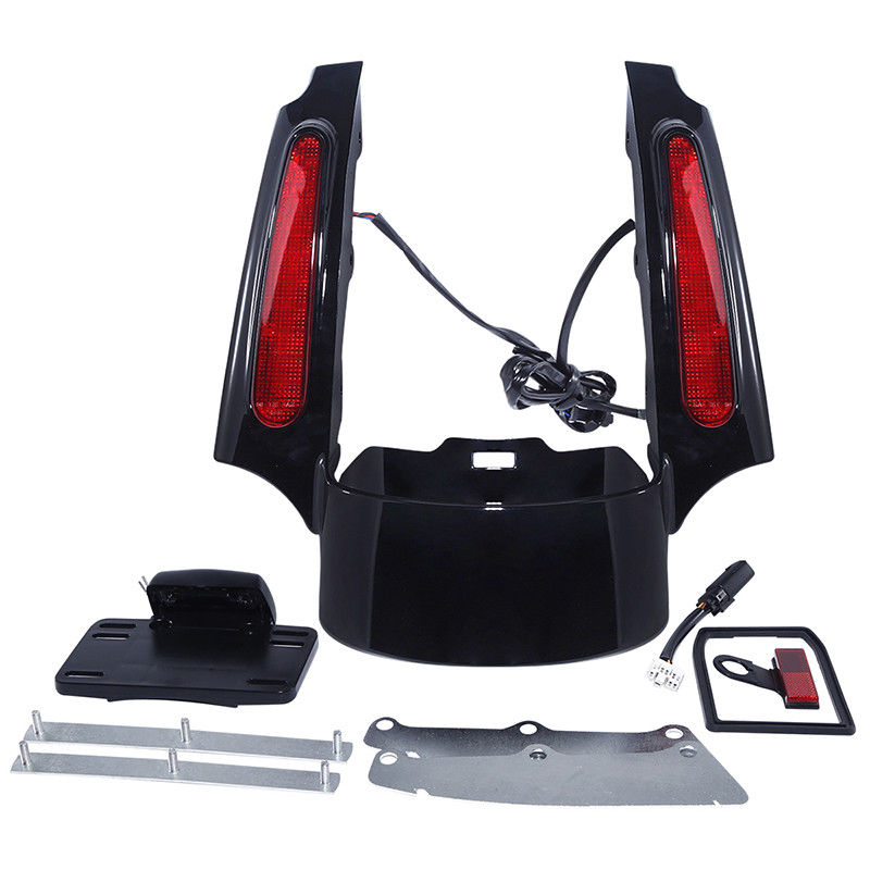 Covers & Ornamental Mouldings Temperate Motorcycle Led Light Rear Fender Extension Fascia Kit For Harley Street Road King Electra Glide Flhtcuse8 Flhtcu Flhr Flhtc Flhx Motorcycle Accessories & Parts