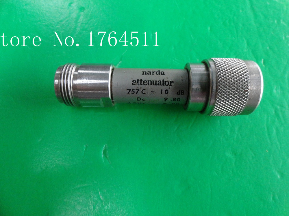 [BELLA] NARDA 757C-10dB DC-12.4GHz 10dB 2W N Coaxial Fixed Attenuator