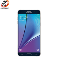 Original T Mobile Version Samsung Galaxy Note 5 Note5 N920T 4G LTE Mobile Phone Octa Core 5.7 16MP RAM 4GB ROM 32GB Cell Phone