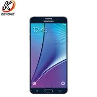 Original versión de t-mobile samsung galaxy note 5 Note5 N920T 4G LTE teléfono móvil octa Core 5.7