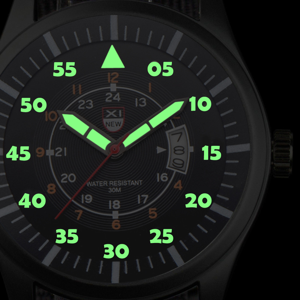 Fashion Casual Military Quartz Calendar Men Watch Leather Sports Watches 4 Color Hours Clock Casual Wristwatch Gift Relogio A4