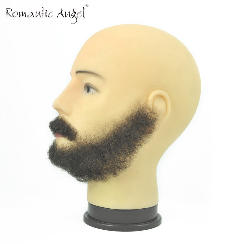 Stupendous Online Shop 100 Real Hair Full Handmade Simulation Moustache Hairstyle Inspiration Daily Dogsangcom