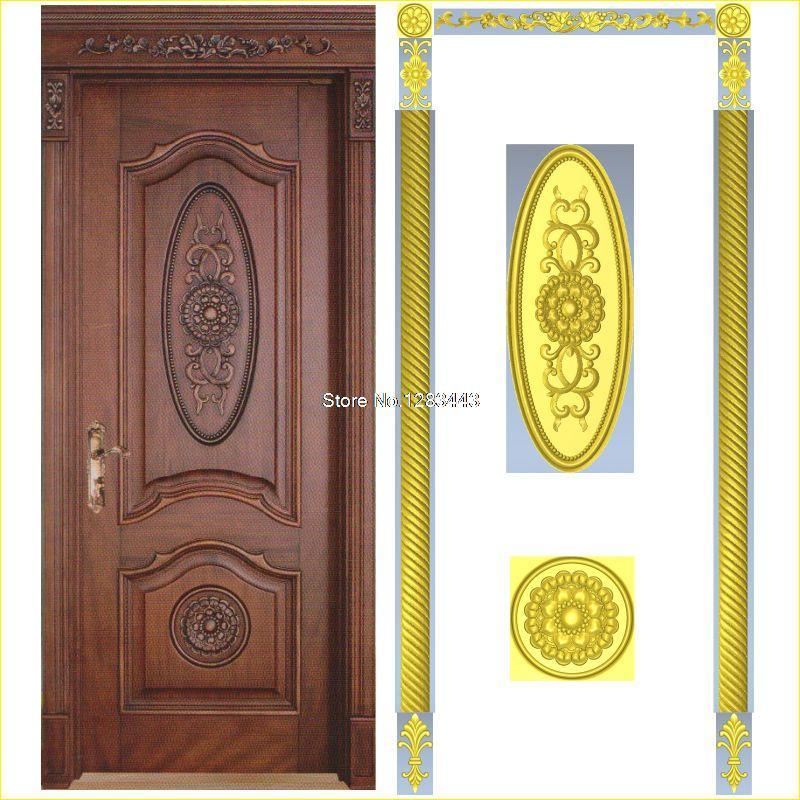 7pcs/lot Door_5 3D Model STL Relief For Cnc STL Format Furniture 3D STL Format Furniture Decoration
