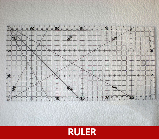 30cmX15cm Acrylic Patchwork Ruler For DIY Craft