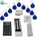 RFID Брелок карты + 180KGs Электрический Замок + k3 rfid-считыватель Карт + питание + кнопка выхода DIY KIT система Контроля доступа Дверь Winte