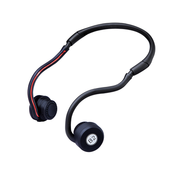 Foldable Bone Conduction Headsets Bluetooth 4.1 Wireless Stereo Sports Earphone Headphone with Microphone For all mobile phones