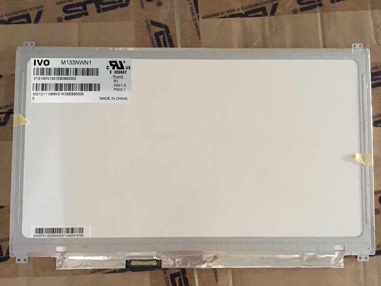 "M133NWN1 R1 M133NWN1 R.1 светодиодный Дисплей экран с ЖК матрицей для ноутбука 13,3 ""30Pin 1366X768 Матовый замена"