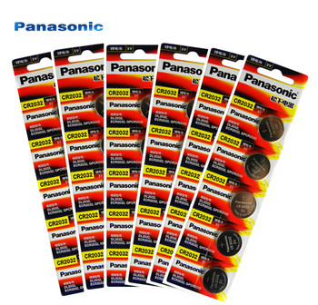 30 sztuk Panasonic oryginalne baterie komórkowe cr2032 3V bateria litowa do zegarka kalkulator zdalnego sterowania cr2032 tanie i dobre opinie Li-ion 20X3 2mm 225mah CR2032 BR2032 DL2032 ECR2032 Lithium battery