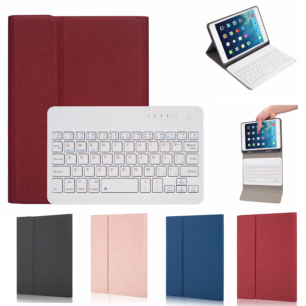 For <font><b>iPad</b></font> <font><b>Mini</b></font> 5/<font><b>Mini</b></font> <font><b>4</b></font> 7.9 Case +Wireless Bluetooth <font><b>Keyboard</b></font> Full Protective Portable <font><b>Keyboard</b></font> Case Smart Auto Sleep/Wake #G8 image