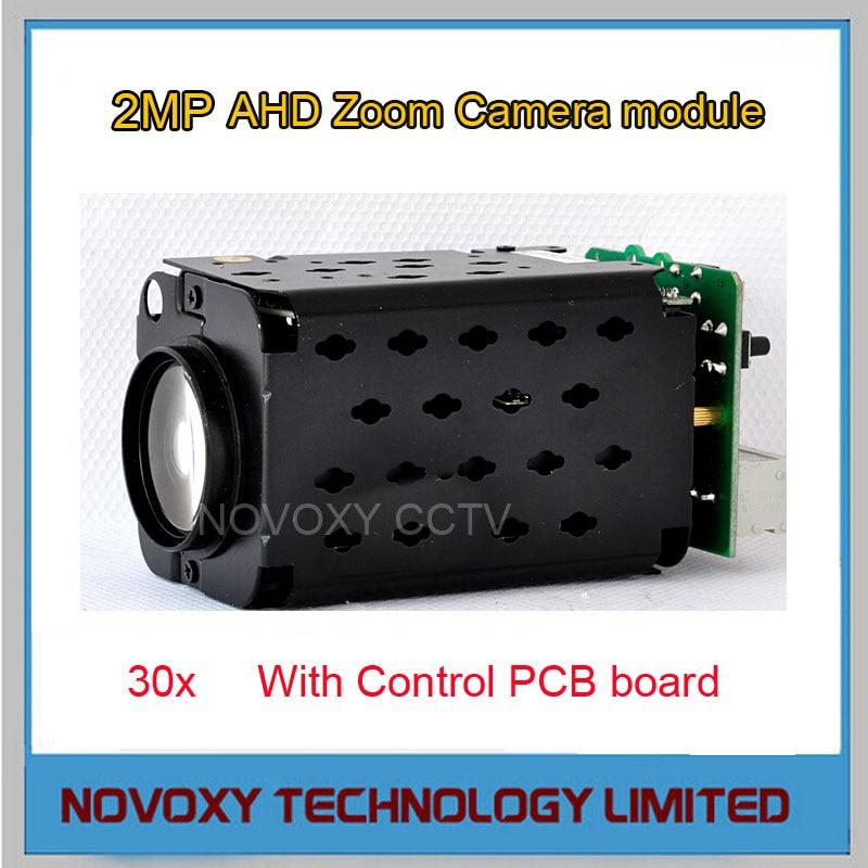 Free Shipping 2MP 1080P AHD TVI CVI CVBS 4 in 1 Zoom Camera 30x Optical 3