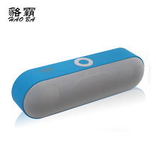 HAOBA NBY-18 Mini Bluetooth Speaker Portable Wireless Speaker Sound System 3D Stereo Music Surround Support Bluetooth,TF AUX USB qcy value package qq800 mini portable bluetooth speaker support tf card usb aux and qy11 sports wireless earphones headphones%2