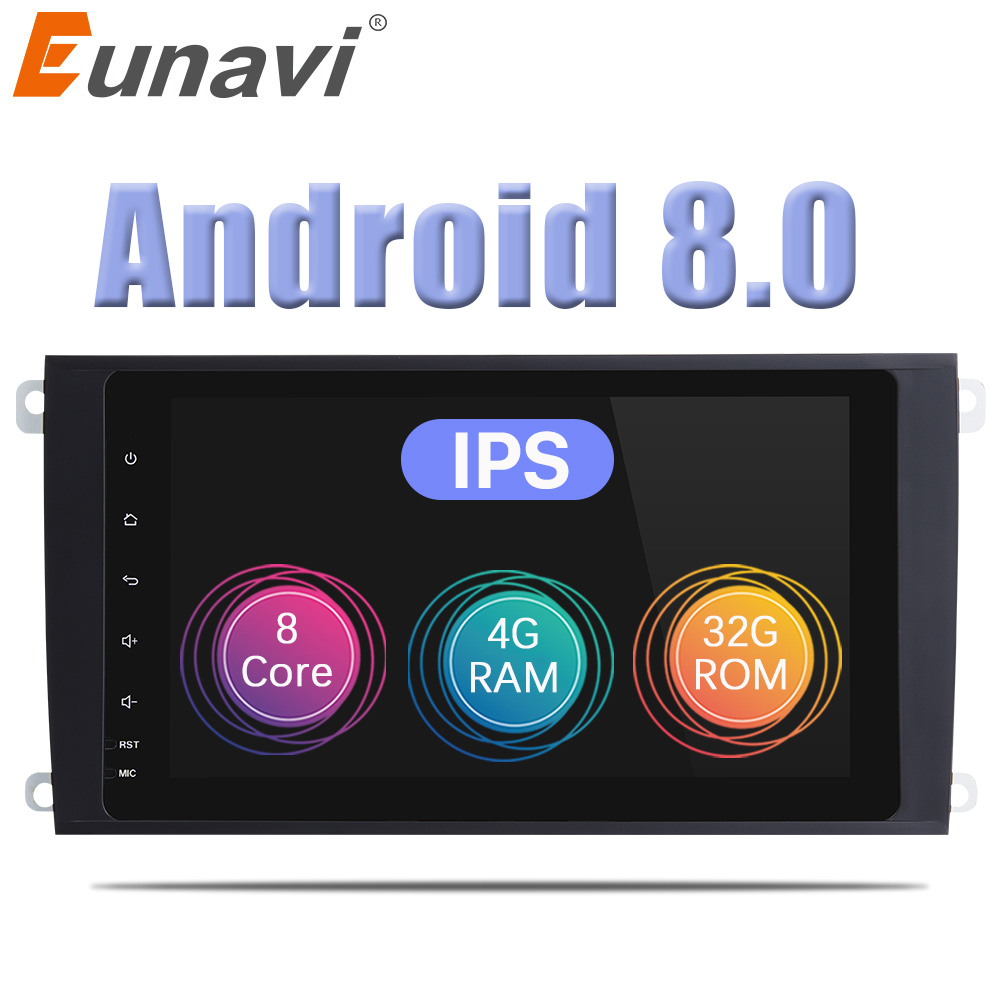 Eunavi 9'' Octa core 2 Din Android 8.0 Car Radio GPS for Mercedes Benz ML CLASS W164 ML350 ML430 ML450 ML500 GL CLASS X164 GL320 цена