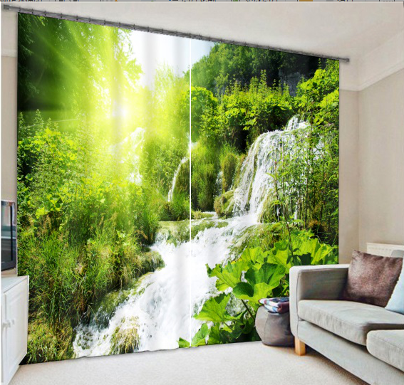 Forest 3D Painting Blackout Curtains Office Bedding Room Living Room Sunshade Window Curtain 3D Curtains Bedding setForest 3D Painting Blackout Curtains Office Bedding Room Living Room Sunshade Window Curtain 3D Curtains Bedding set