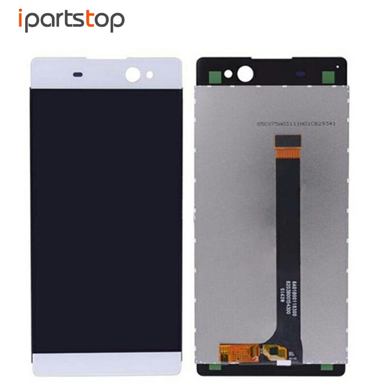 Original OEM LCD Screen Display With Touch Digitizer Assembly For Sony Xperia XA Ultra C6 F3213 F3215 Black White Gold brazil football fans caxirola cheer horn for 2014 world cup
