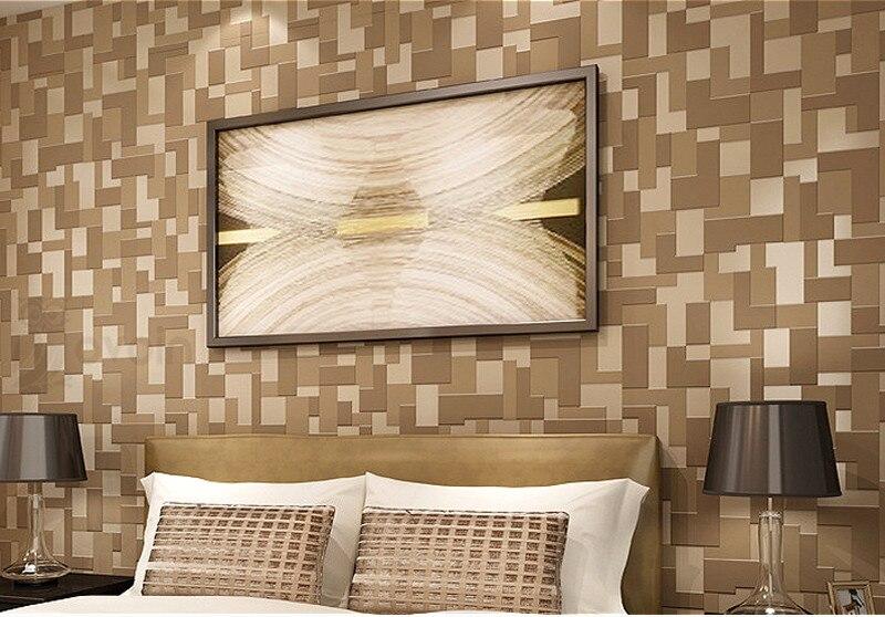 Captivating Karierten Geometrischen Weiß Schwarz 3D Wallpaper Für Wände Rollen 3 D  Schlafzimmer Wohnzimmer Hintergrund Samt Wand Papier Grau. Nice Design