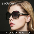 BEOLOWT Brand Fashion Polaroid Sunglasses Women Polarized Driving Alloy Sun Glasses  with Case Box 5 Colors  BL118
