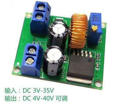 US $17 8 |10pcs LM2587 DC DC 3V 35V To 4V 40V Step Up Power Module Boost  Converter 12v 24v Converter 12v to 5v Voltage Converter-in Integrated