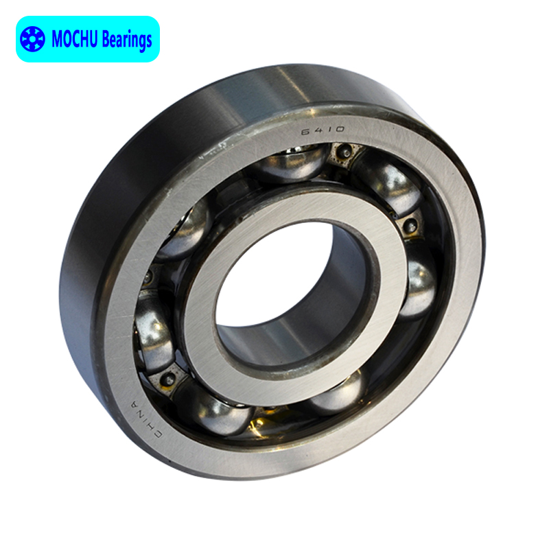 1pcs Bearing 6410 50x130x31 MOCHU Open Deep Groove Ball Bearings Single Row High Quality single row 8mm x 16mm x 5mm deep groove ball bearing for electric hammer 26
