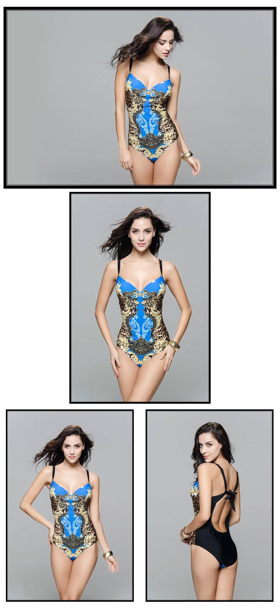 Beauty Print One Piece Swimsuit