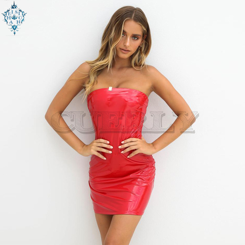Ameision spaghetti straps high waist neon green silk backless sexy dresses 2019 summer women fashion party streetwear solid