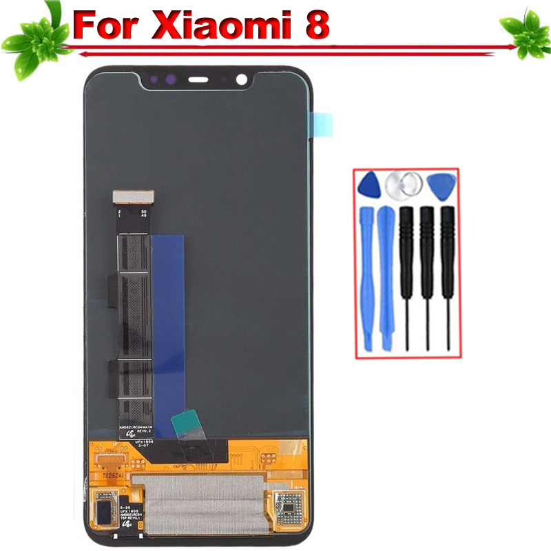 6.21 A Quality for Xiaomi 8 LCD Display+Touch Screen Digitizer Assembly for Xiaomi Mi 8 LCD Replacement Parts6.21 A Quality for Xiaomi 8 LCD Display+Touch Screen Digitizer Assembly for Xiaomi Mi 8 LCD Replacement Parts