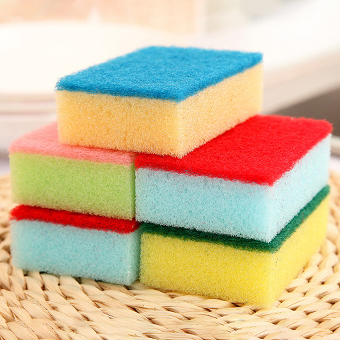 New Arrival Nano Sponge Magic Eraser For Removing Rust Cleaning Cotton Emery Sponge Kitchen Supplies Descaling Clean Rub Pot