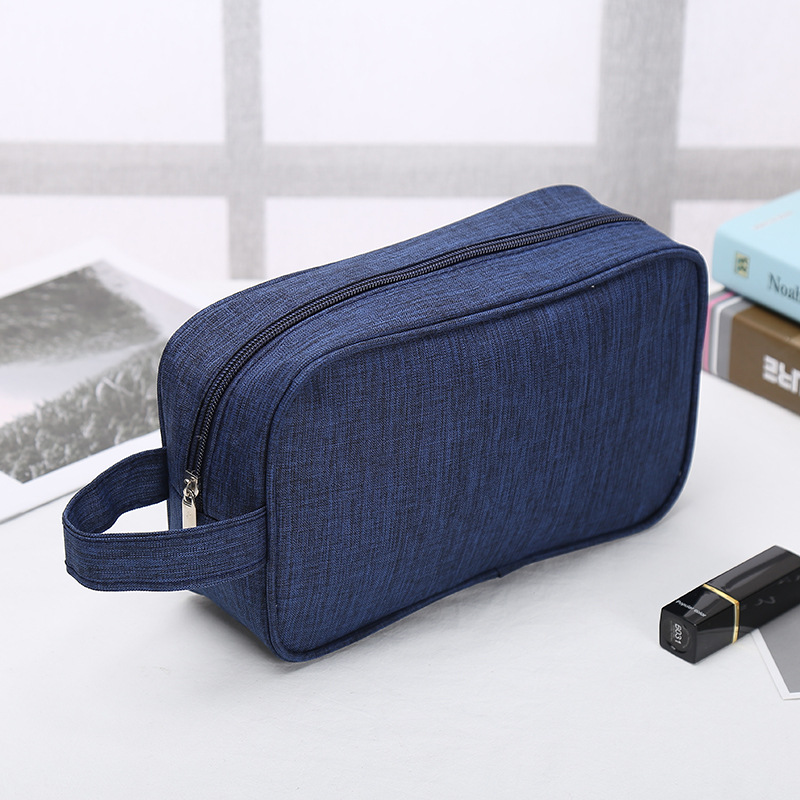 Laamei Women High Capacity Cosmetic Bag Make Up Wash Toiletry Bag Organizer Toothbrush Storage Pouch Female Zippper Travel Bag