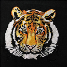 1PC Big Tiger Fabric Patch Embroidery Sew on Patches for Clothing DIY Decoration Clothes Kids T-shirt Applique Badge P142