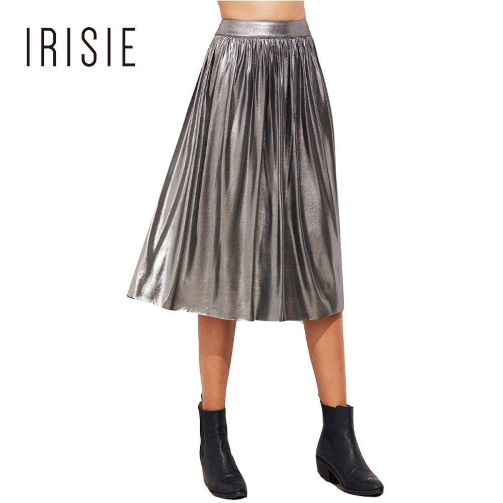Popular Silver Metallic Skirt-Buy Cheap Silver Metallic Skirt lots ...