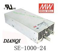 Источника питания SE 1000 24 Оригинал MEAN WELL Источник питания Блок переменного тока в dc 1000 Вт 24 В 41.7A MEANWELL привело питания