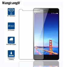 5pcs/lot Ultra-thin Tempered glass For Lenovo K5 Screen protector phone protection flim note plus wangcangli