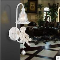 The Horn / Violin Resin Angel light Carving Romance Wall Lamp WLL 9