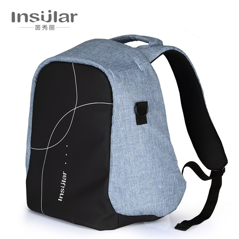 Insular Large Capacity Maternity Baby Diaper Nappy Backpack Bag Stroller for Mother Mummy Portable Messenger Shoulder Bag insular waterproof nylon handbags for moms large capacity diaper bag for baaby multifunctional mother nappy bags free shipping