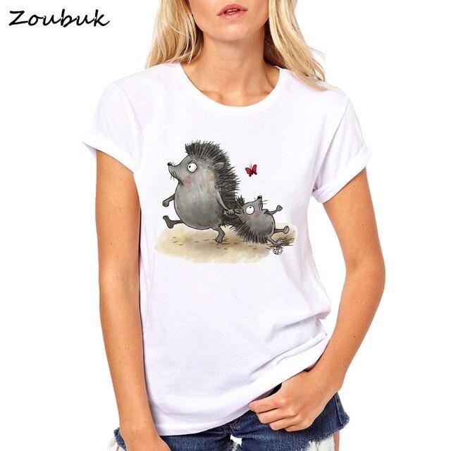 Hedgehog Tshirt Funny...
