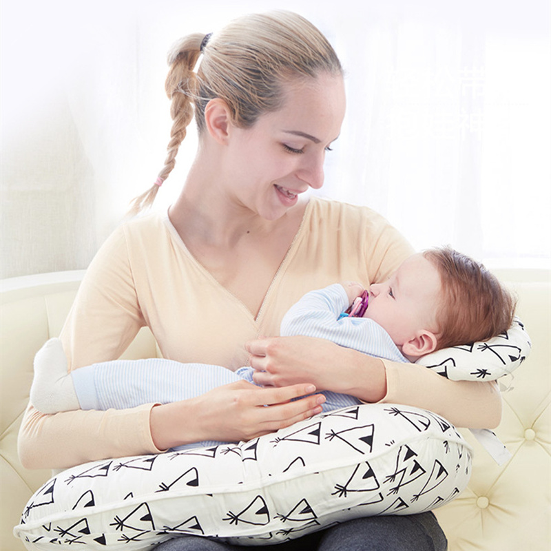 Maternal Pillow Multifunctional Infant Feeding Pillow U-shaped Waist Pillow Baby Breast-feeding Pillow Baby Product New 2019 Baby Bedding