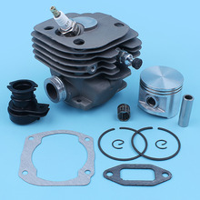 Nikasil Plated 50MM Cylinder Piston WT Intake Manifold Kit fit HUSQVARNA 365 362 371 372 XP 371K Jonsered 2165 2171 Chainsaw New
